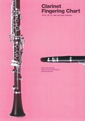 Clarinet Fingering Chart 9780825623837