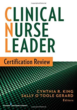 Clinical Nurse Leader Certification Review 9780826171177