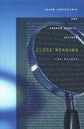 Close Reading-PB