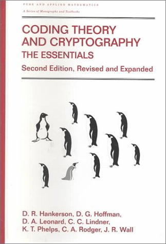 Coding Theory and Cryptography: The Essentials, Second Edition 9780824704650