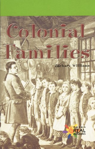 Colonial Families 9780823981427