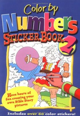 Color by Numbers Sticker-Book 9780825472657