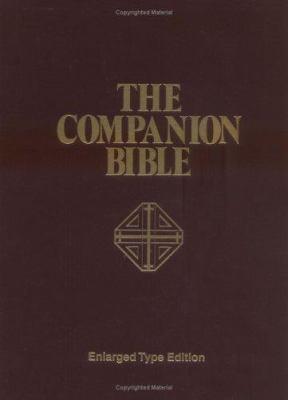 Companion Bible-KJV-Large Print