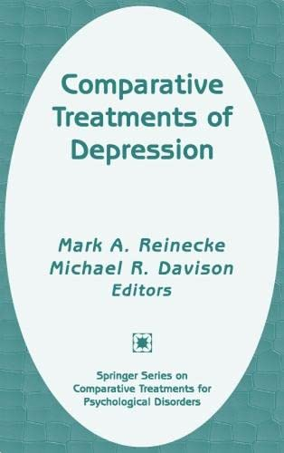 Comparative Treatments of Depression 9780826146816