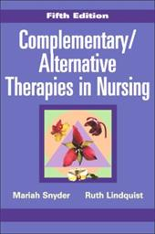 Complementary/Alternative Therapies in Nursing