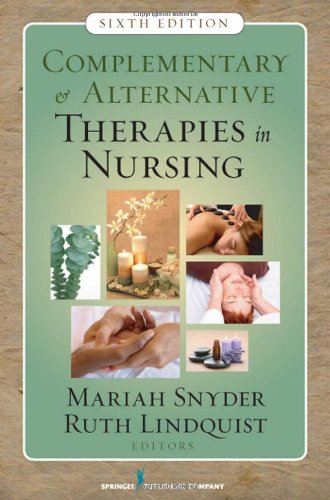 Complementary & Alternative Therapies in Nursing 9780826124289