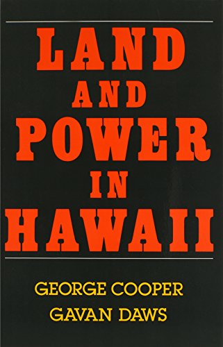 Cooper: Land and Power in Hawaii 9780824813031