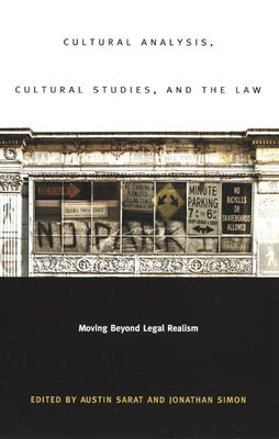 Cultural Analysis, Cultural-PB 9780822331438