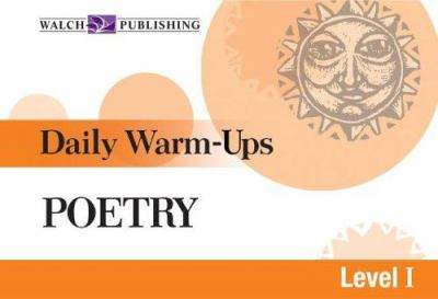 Daily Warm-Ups for Poetry 9780825145209