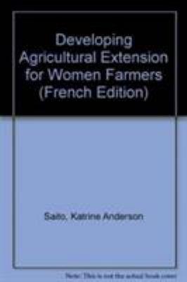 Developper L'Encadrement Agricole Au Profit Des Femmes
