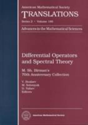 Differential Operators and Spectral Theory: M. Sh. Birman's 70th Anniversary Collection