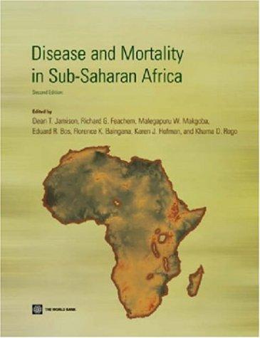 Disease and Mortality in Sub-Saharan Africa 9780821363973