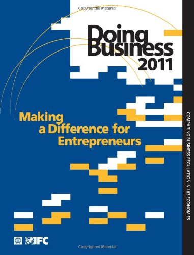 Doing Business: Making a Difference for Entrepreneurs 9780821379608