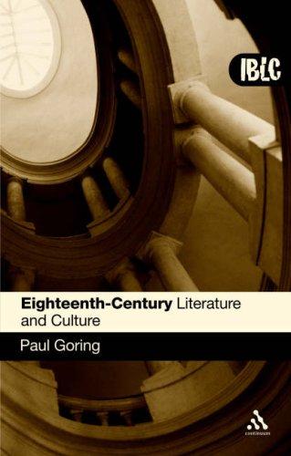 Eighteenth-Century Literature and Culture 9780826485656