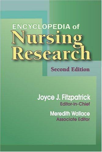 Encyclopedia of Nursing Research 9780826198129