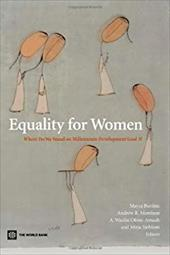Equality for Women: Where Do We Stand on Millennium Development Goal 3? 3524471