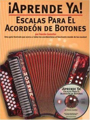 Escalas Para el Acordeon de Botones [With CD]