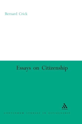 Essays on Citizenship 9780826477538