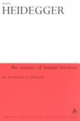 Essence of Human Freedom: An Introduction to Philosophy 9780826459244