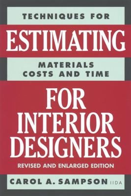 Estimating for Interior Designers 9780823016297