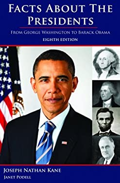 Facts about the Presidents: A Compilation of Biographical and Historical Information 9780824210878