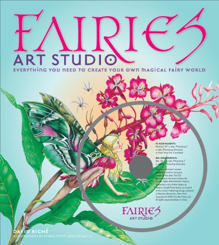 Fairies Art Studio: Everything You Need to Create Your Own Magical Fairy World [With CDROM]