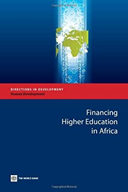 Financing Higher Education in Africa 9780821383346