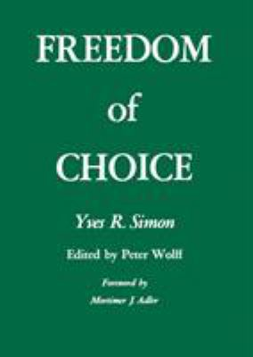 Freedom of Choice 9780823208418