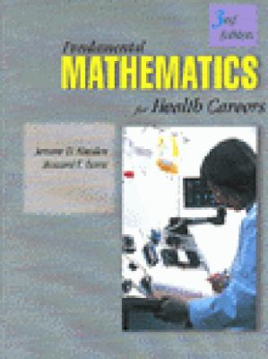 Fundamentals of Mathematics for Health Careers 9780827366886