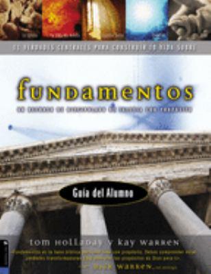 Fundamentos: Un Recurso de Discipulado de Iglesia Con Proposito 9780829738674