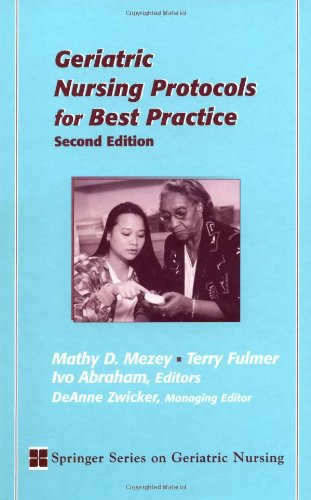 Geriatric Nursing Protocols for Best Practice: Second Edition 9780826118349