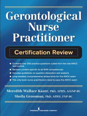Gerontological Nurse Practitioner Certification Review 9780826106438