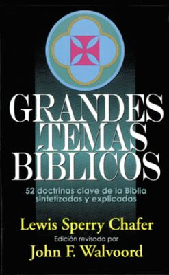 Grandes Temas Biblicos = Major Bible Themes 9780825411212