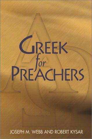 Greek for Preachers 9780827212442
