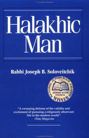 Halakhic Man 9780827603974
