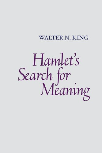 Hamlet's Search for Meaning 9780820338552