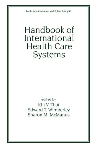 Handbook of International Health Care Systems 9780824788292