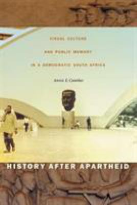 History After Apartheid-CL 9780822330608