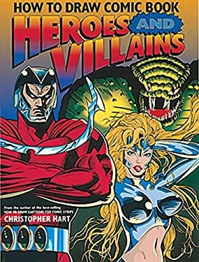 How to Draw Comic Book Heroes and Villains 9780823022458