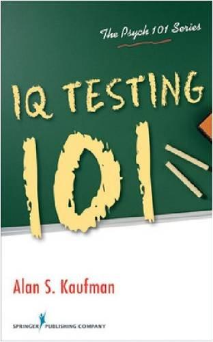IQ Testing 101 9780826106292