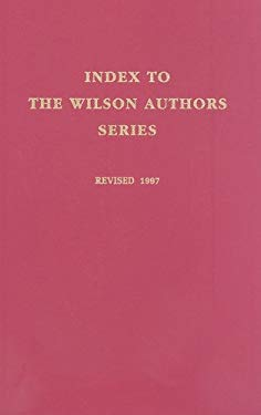 Index to the Wilson Authors Series 9780824209001