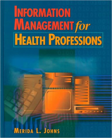 Information Management for Health Professionals 9780827359499