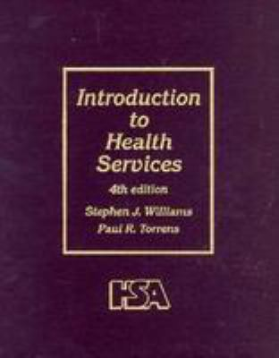 Introduction to Health Services 9780827350106