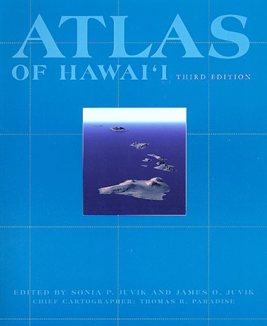 Juvik: Atlas of Hawaii, 3rd Paper 9780824821258