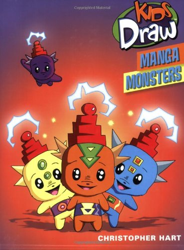 Kids Draw Manga Monsters 9780823098408