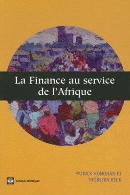 La Finance Au Service de L'Afrique 9780821371435