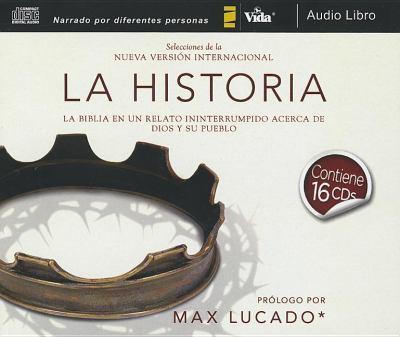 La Historia NVI, Audio CD Ntegro: La Biblia En Un Relato Ininterrumpido Acerca de Dios y Su Pueblo 9780829752953