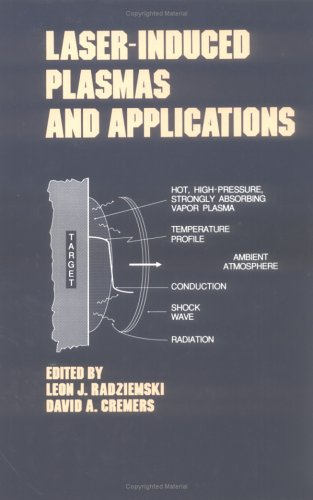 Lasers-Induced Plasmas and Applications 9780824780784