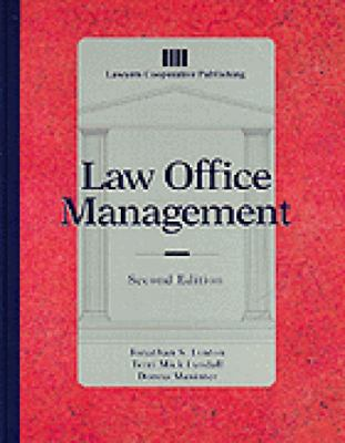 Law Office Management 9780827371392