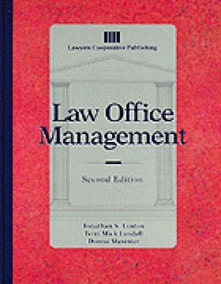 Law Office Management 9780827371392